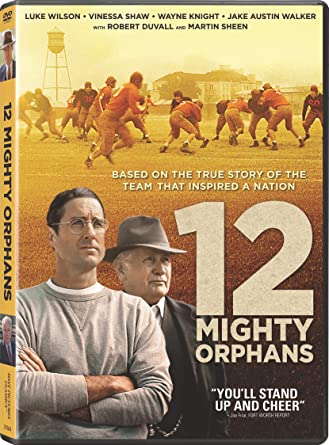 12 Mighty Orphans DVD Cover