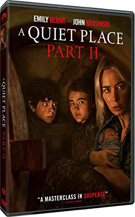 A Quiet Place Part II DVD Cover