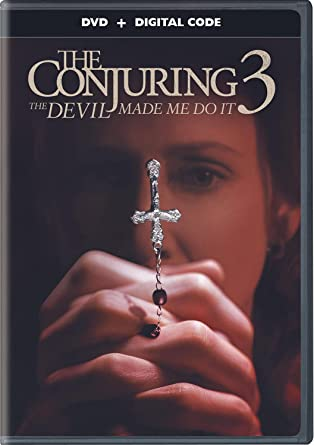 Conjuring, The: The Devil Made Me Do It DVD Cover