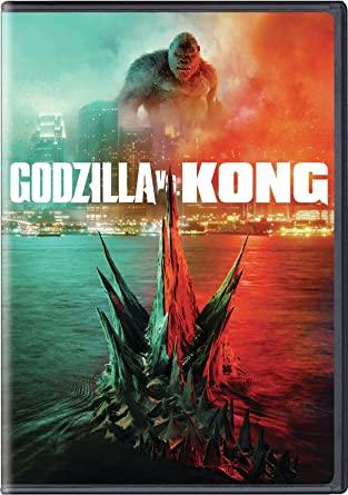 Godzilla vs Kong DVD Cover