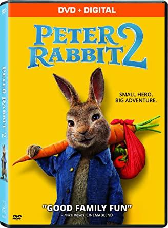 Peter Rabbit 2 DVD Cover