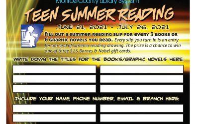 Teen Summer Reading 2021
