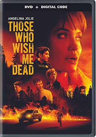 Those Who Wish Me Dead DVD Cover