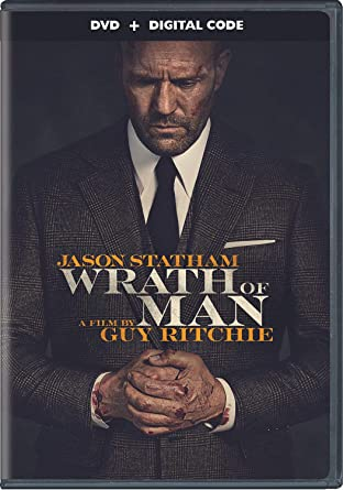 Wrath of Man DVD Cover