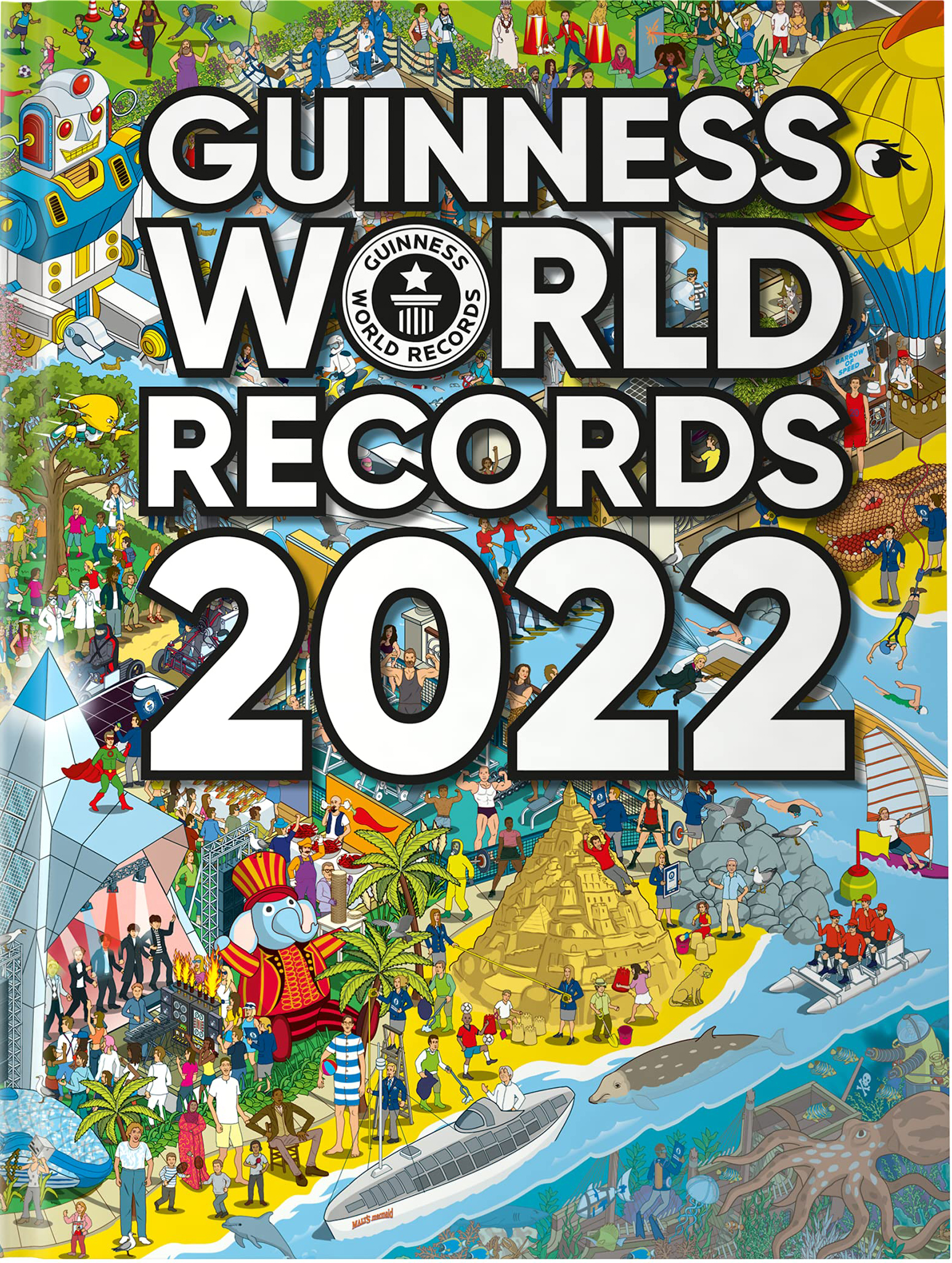 Guinness World Records 2022 book cover