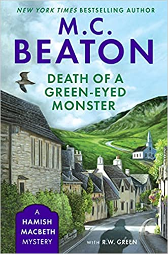Death of a Green-Eyed Monster book cover