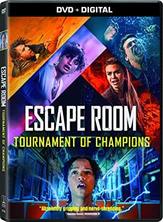 Escape Room: Tournament of Champions DVD Cover
