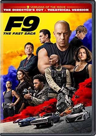 F9: The Fast Saga DVD Cover
