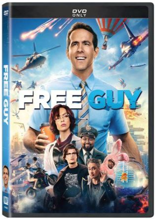 Free Guy DVD Cover