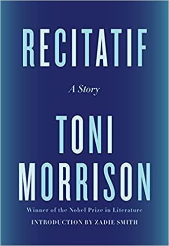Recitatif book cover