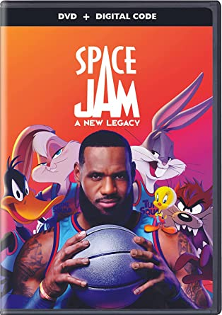 Space Jam: A New Legacy DVD Cover