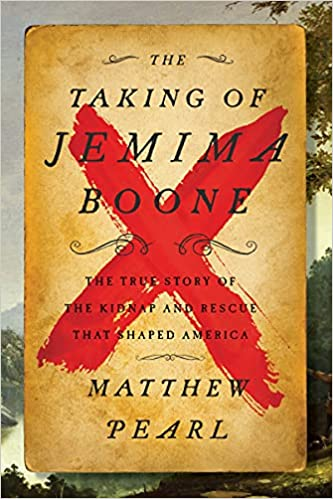The Taking of Jemima Boone book cover